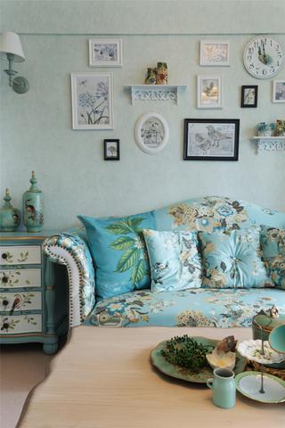 一居室田园风小家沙发图片