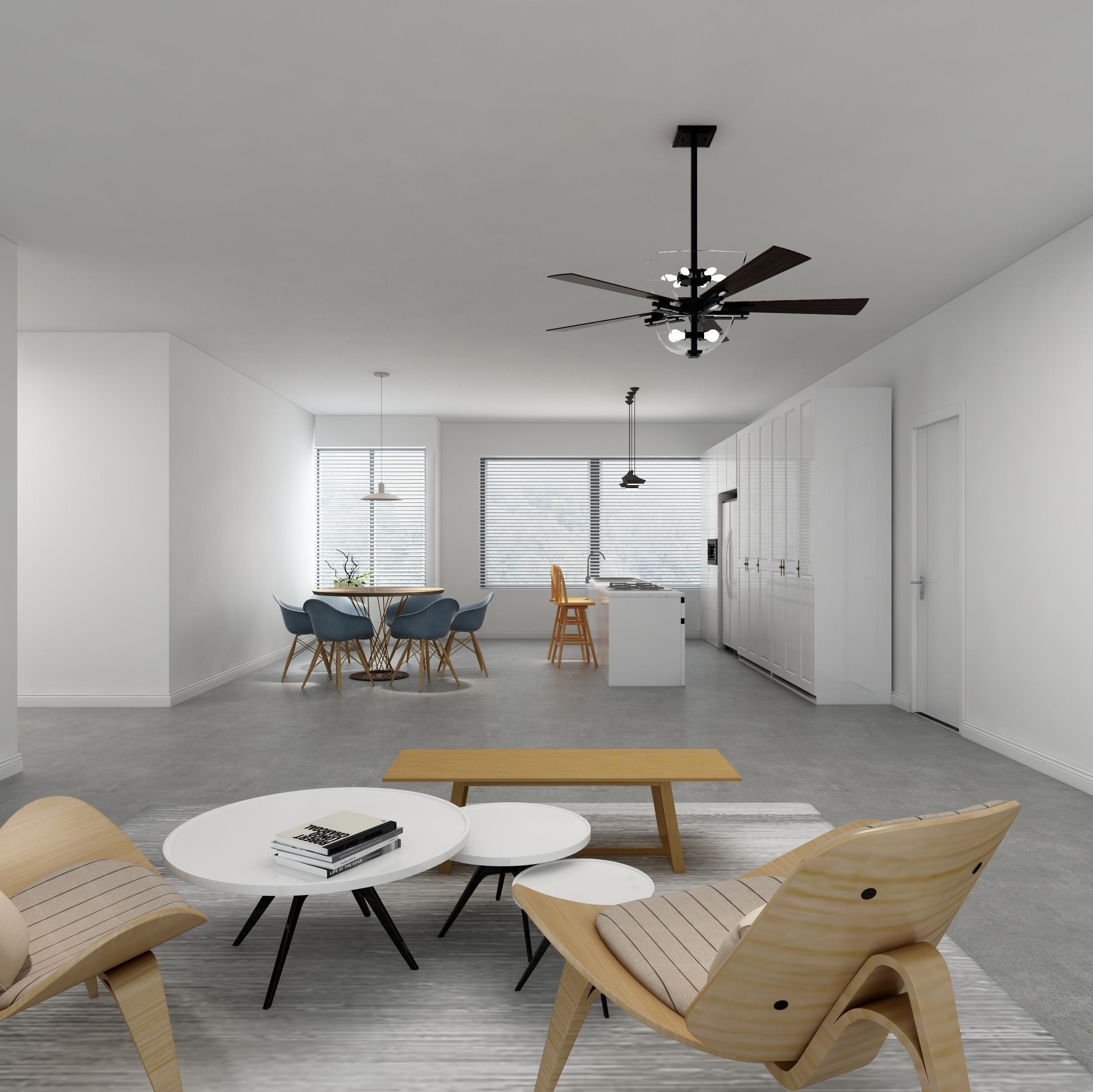 极简三居装修效果图 纯净空间