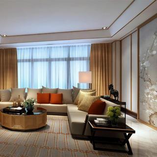 豪华中式别墅装修 时尚东方美