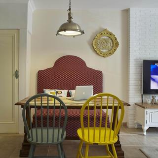 二居室美式之家 舒服自由