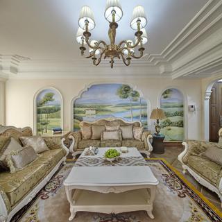 欧式四居室装修 优美雅致