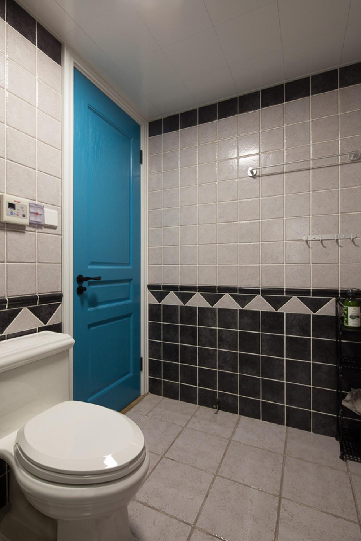 90㎡混搭空间设计卫生间图片