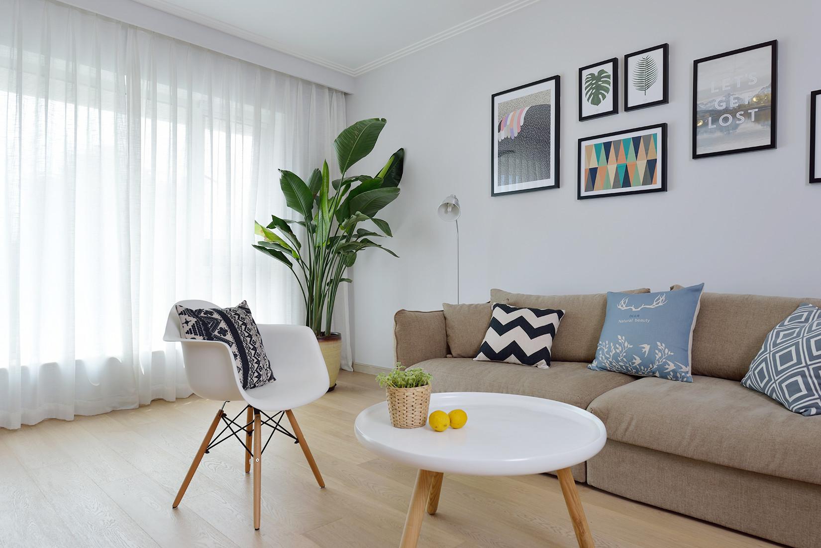 120㎡北欧简约家沙发图片