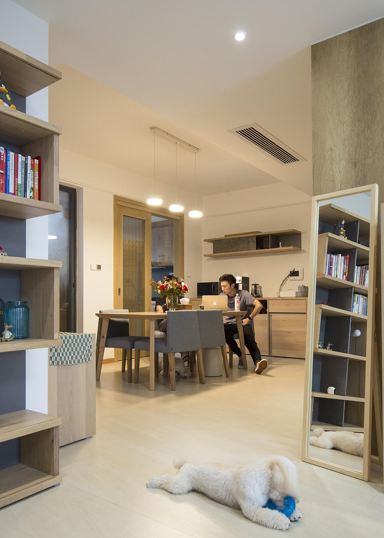 日式优雅清美四居装修餐厅欣赏图