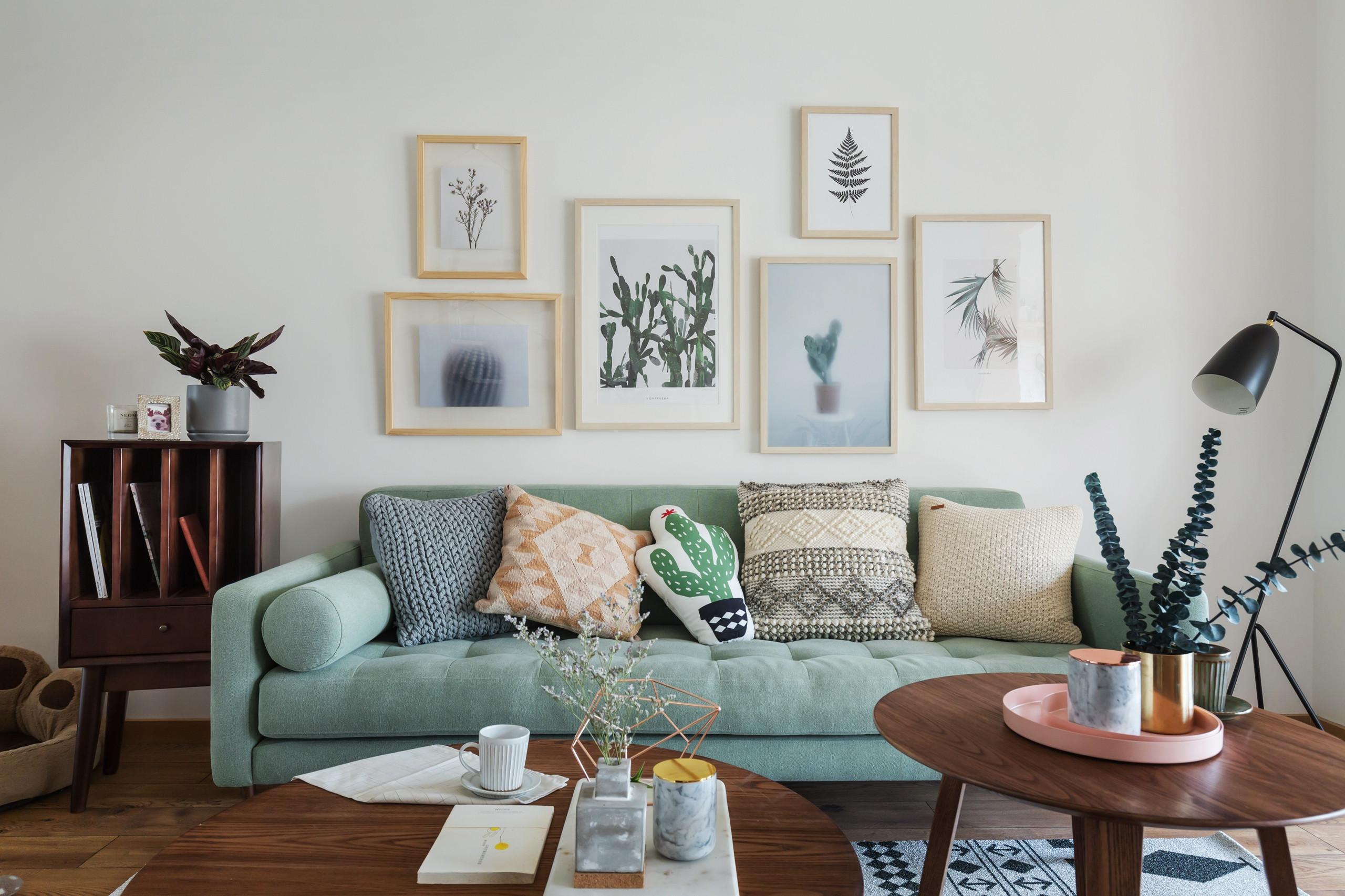 北欧三居装修沙发图片