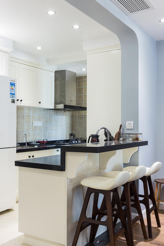 80平北欧风格家厨房效果图