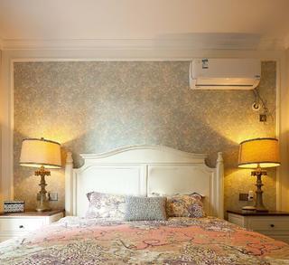 美式四居之家床头背景墙图片