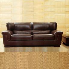 四格 3+2+1牛皮沙发 上海皮艺沙发 定制沙发 办公组合 846型