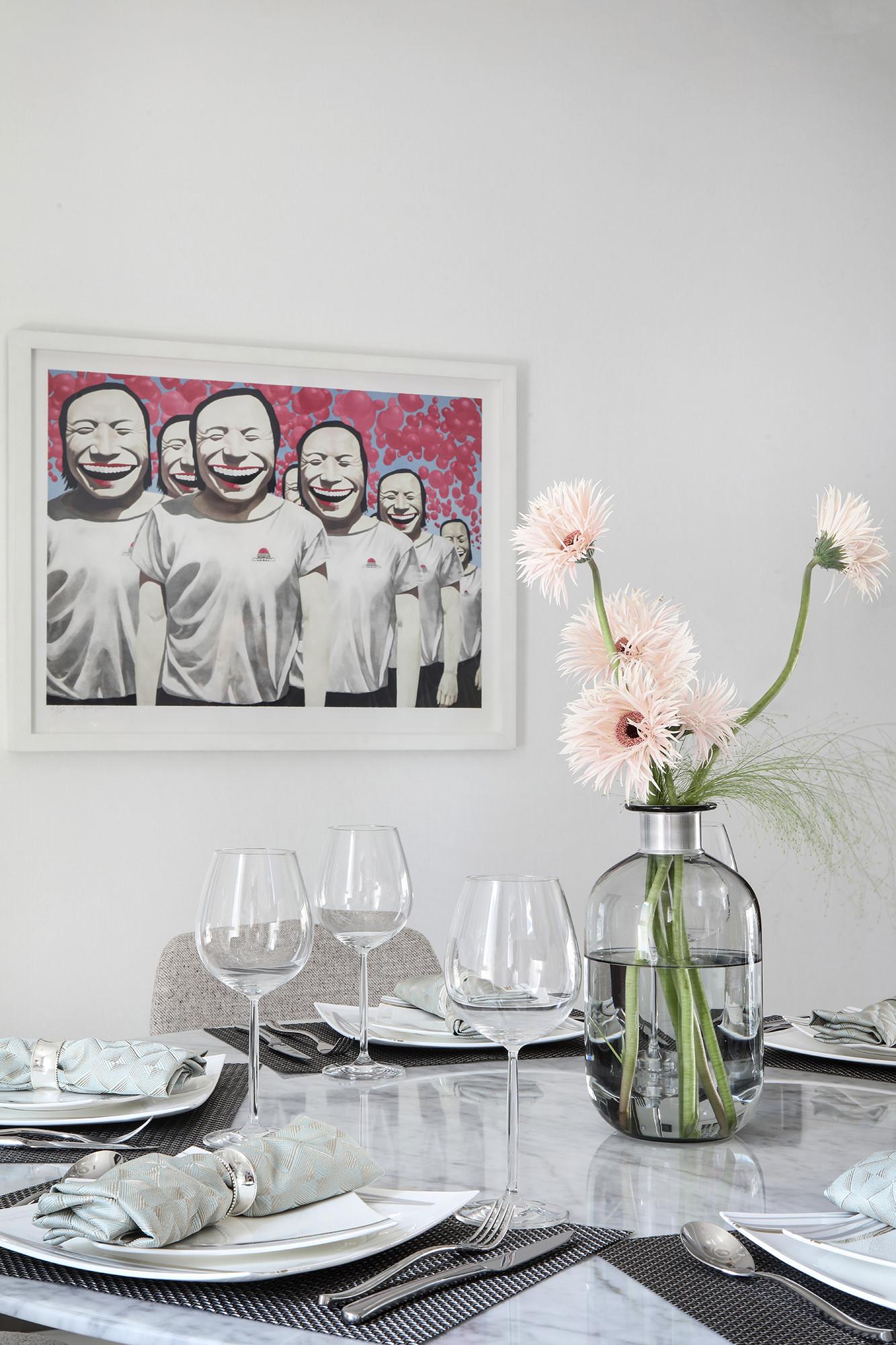 大户型现代简约家装饰画图片