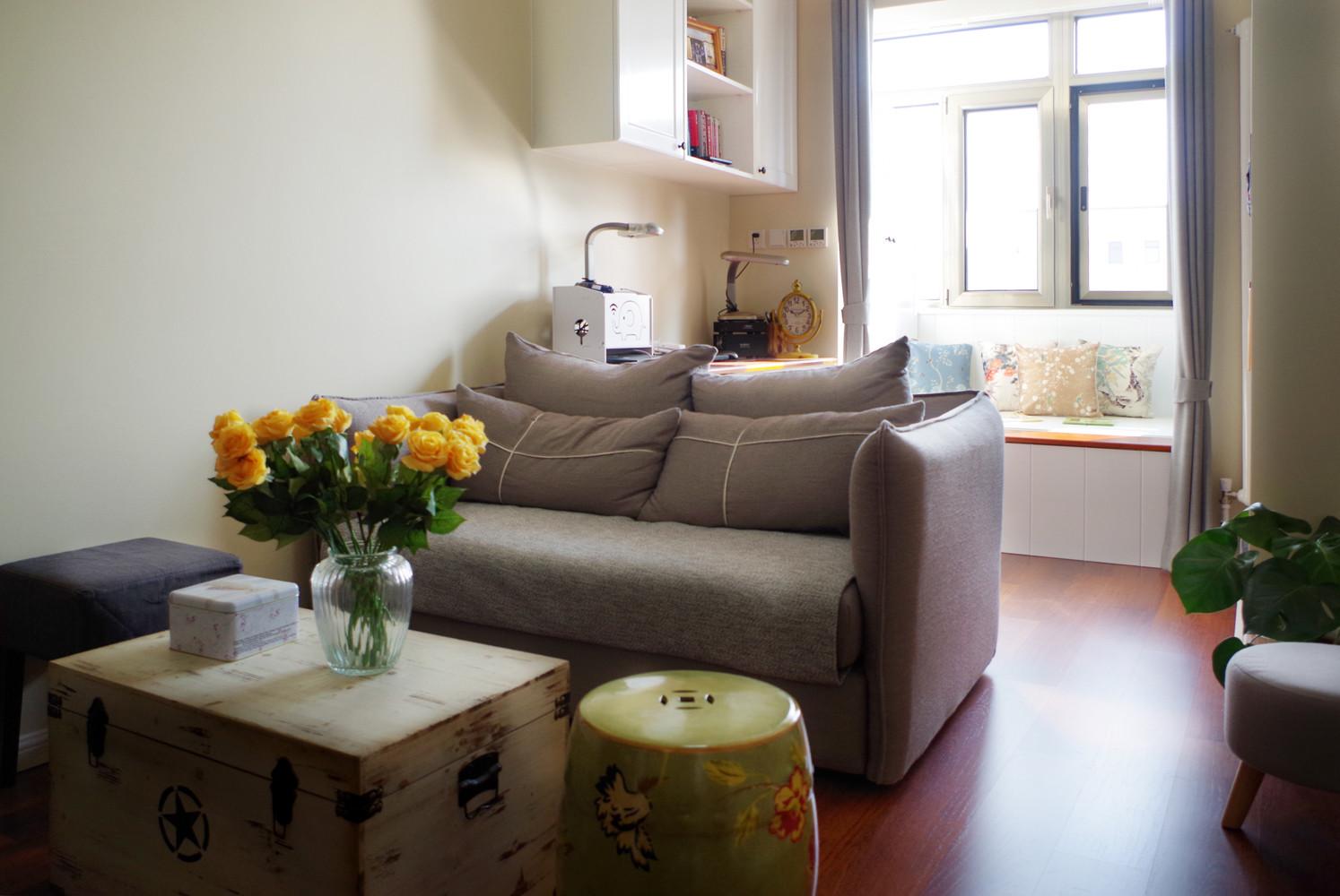 47㎡美式温馨小家装修沙发图片