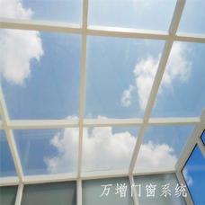 【万增品牌门窗】美亚宝别墅阳光房铝合金门窗 钢化安全玻璃