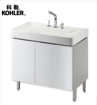 科勒希尔维浴室柜组合K-45764T+K-2746T家具
