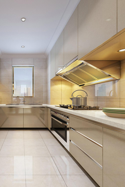 简约清新二居装修厨房参考图
