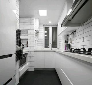 北欧三居装修厨房设计图