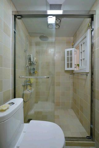 北欧二居室小户型装修淋浴房图片