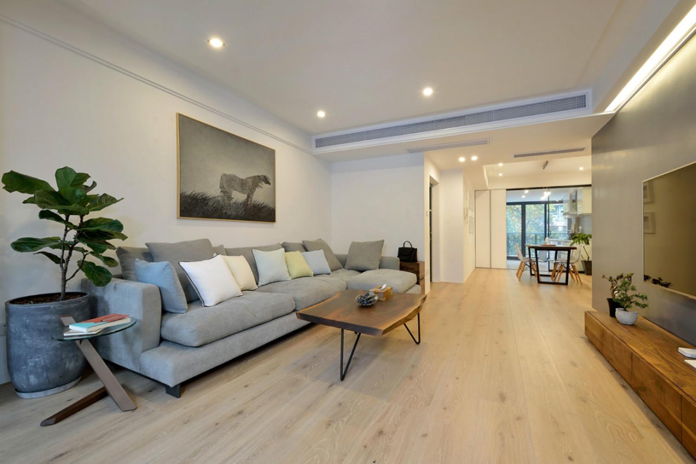 简约三居空间设计沙发图片