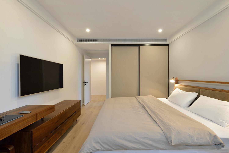 简约三居空间设计电视柜图片