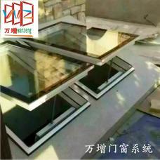 【万增门窗】玻璃阳光房供应铝合金天窗 上海松江区铝合金阳光房