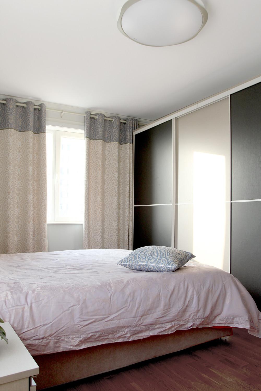 60平小户型装修窗帘图片