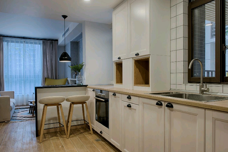 北欧公寓装修橱柜图片