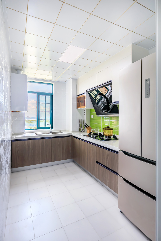 110㎡北欧风装修厨房效果图