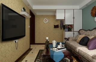 一居室美式之家茶几图片