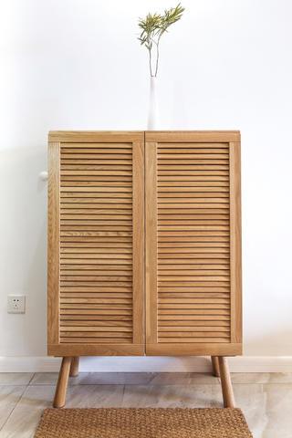 二居室日式风格家玄关柜图片