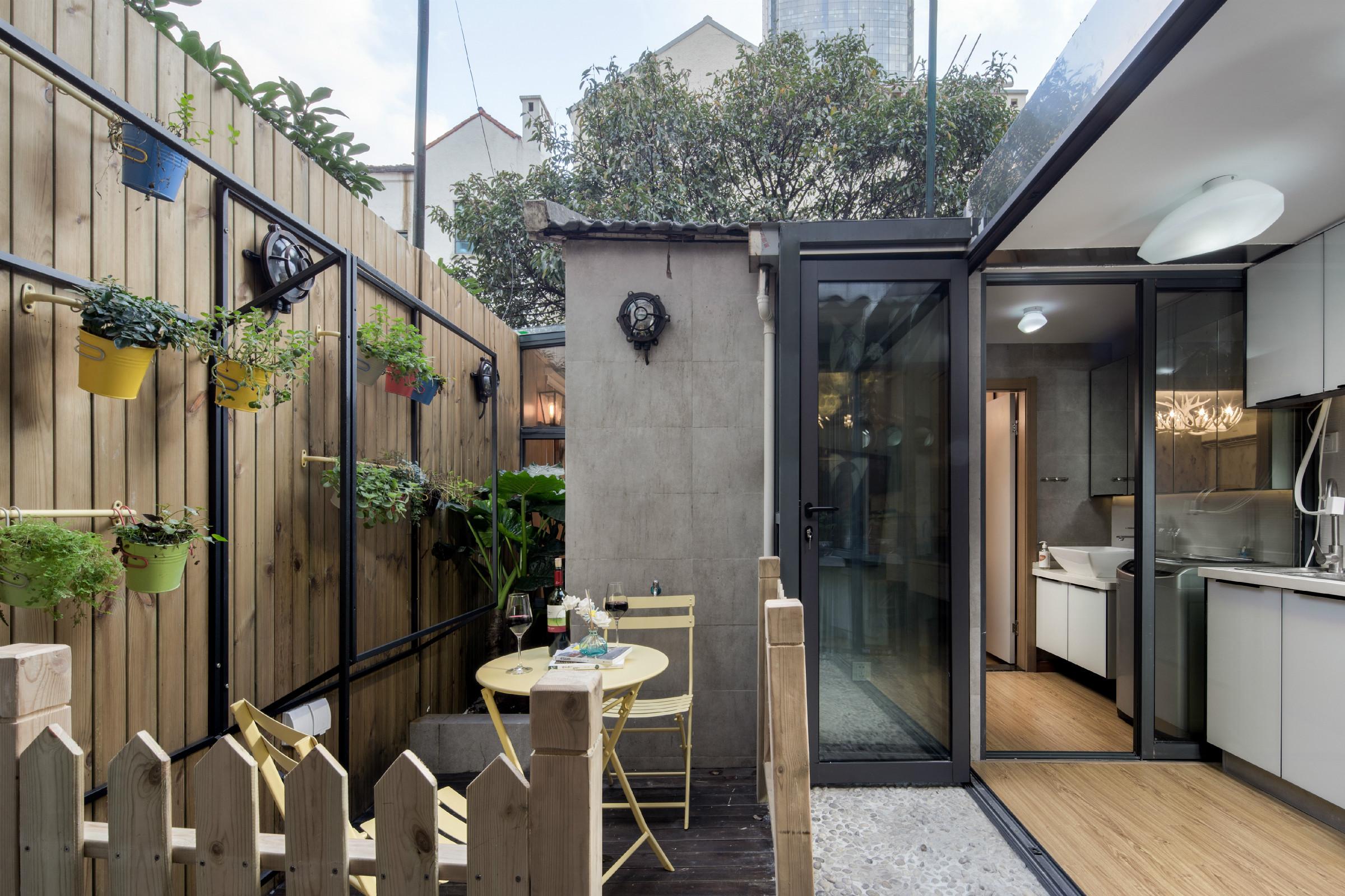38平小户型公寓装修庭院欣赏图