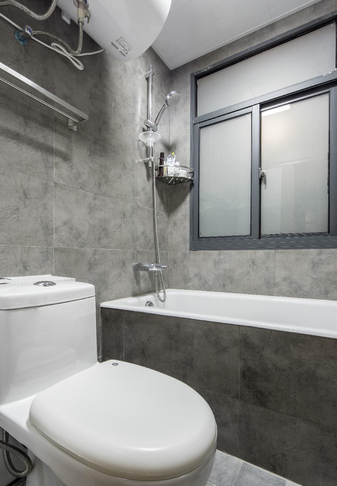 38平小户型公寓装修卫生间效果图