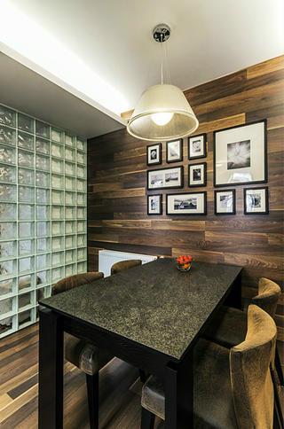 106平现代简约家餐厅背景墙图片