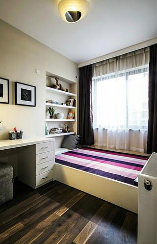 106平现代简约家卧室设计图