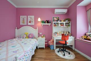 130㎡简美之家儿童房效果图