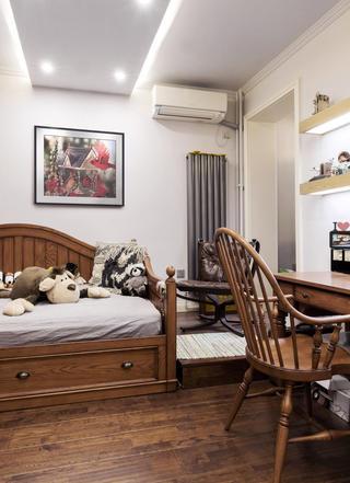 二居室美式风情家儿童房设计图
