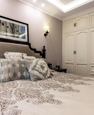 二居室美式风情家我是卧室一角