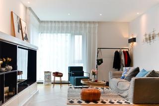 70平一居室小家客厅欣赏图