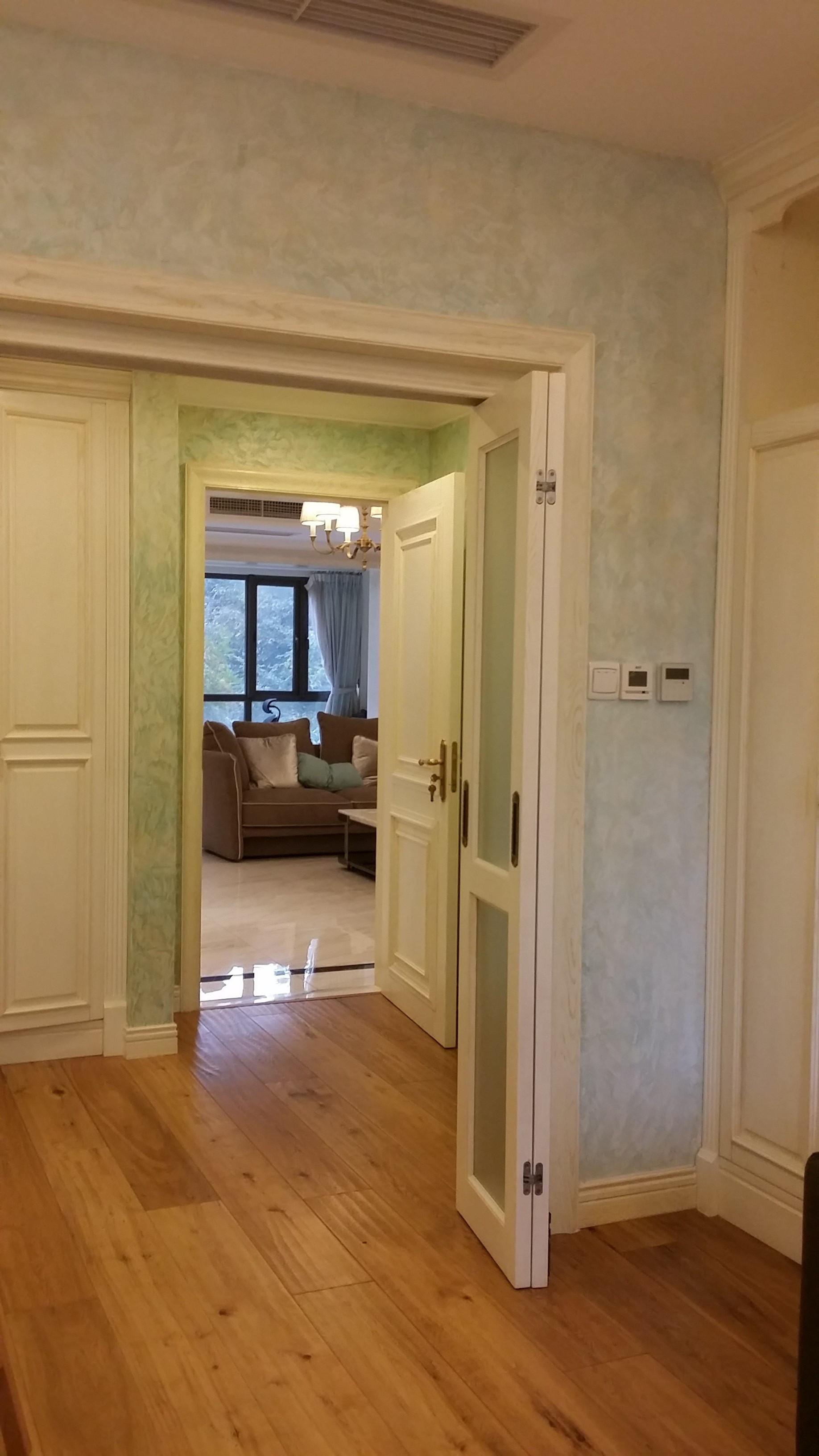 大户型美式风格装修门厅图片