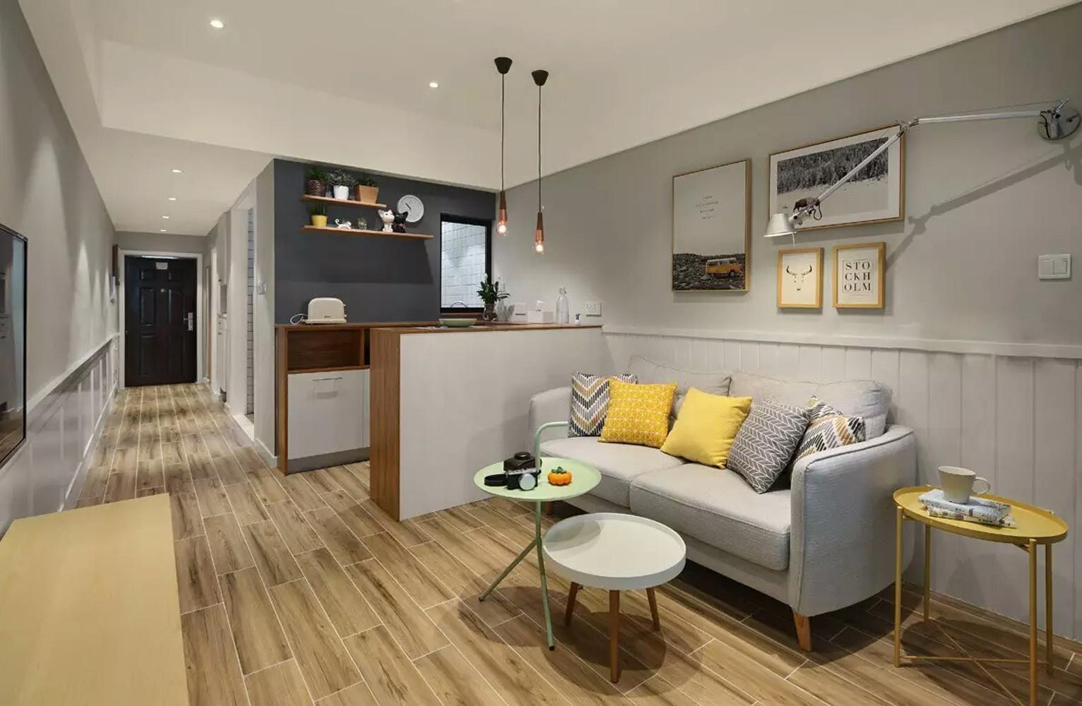 一居室小户型装修走廊图片