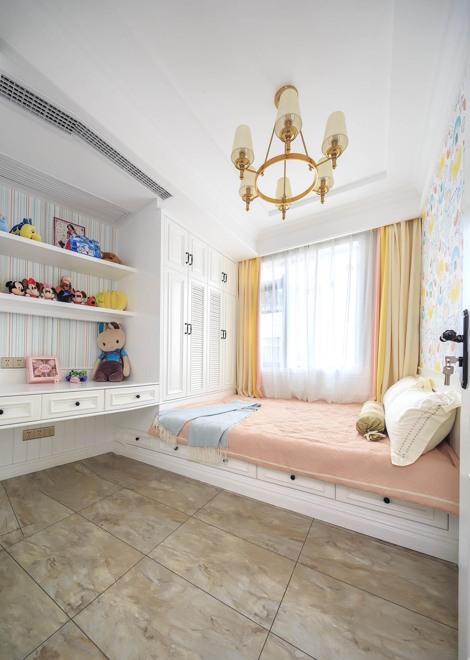 美式三居之家儿童房设计图