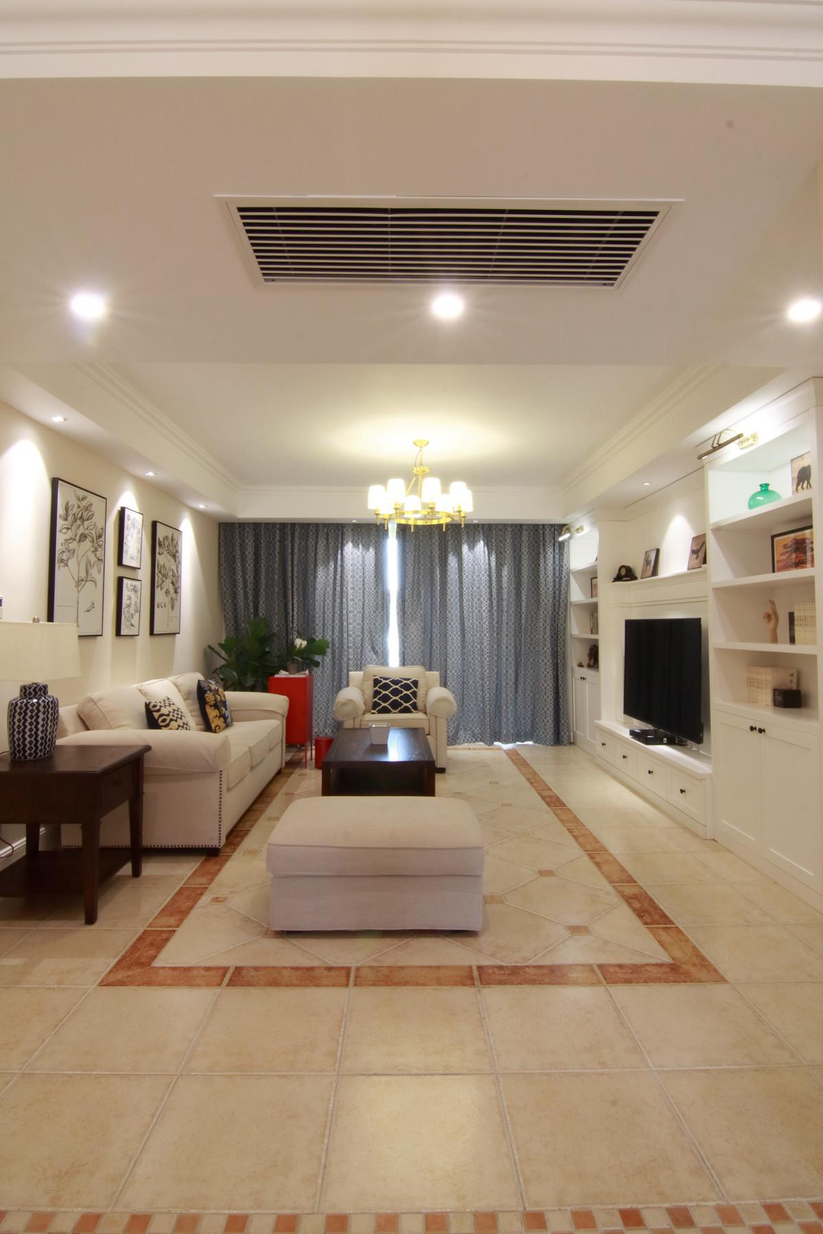 155平简美之家装修客厅欣赏图