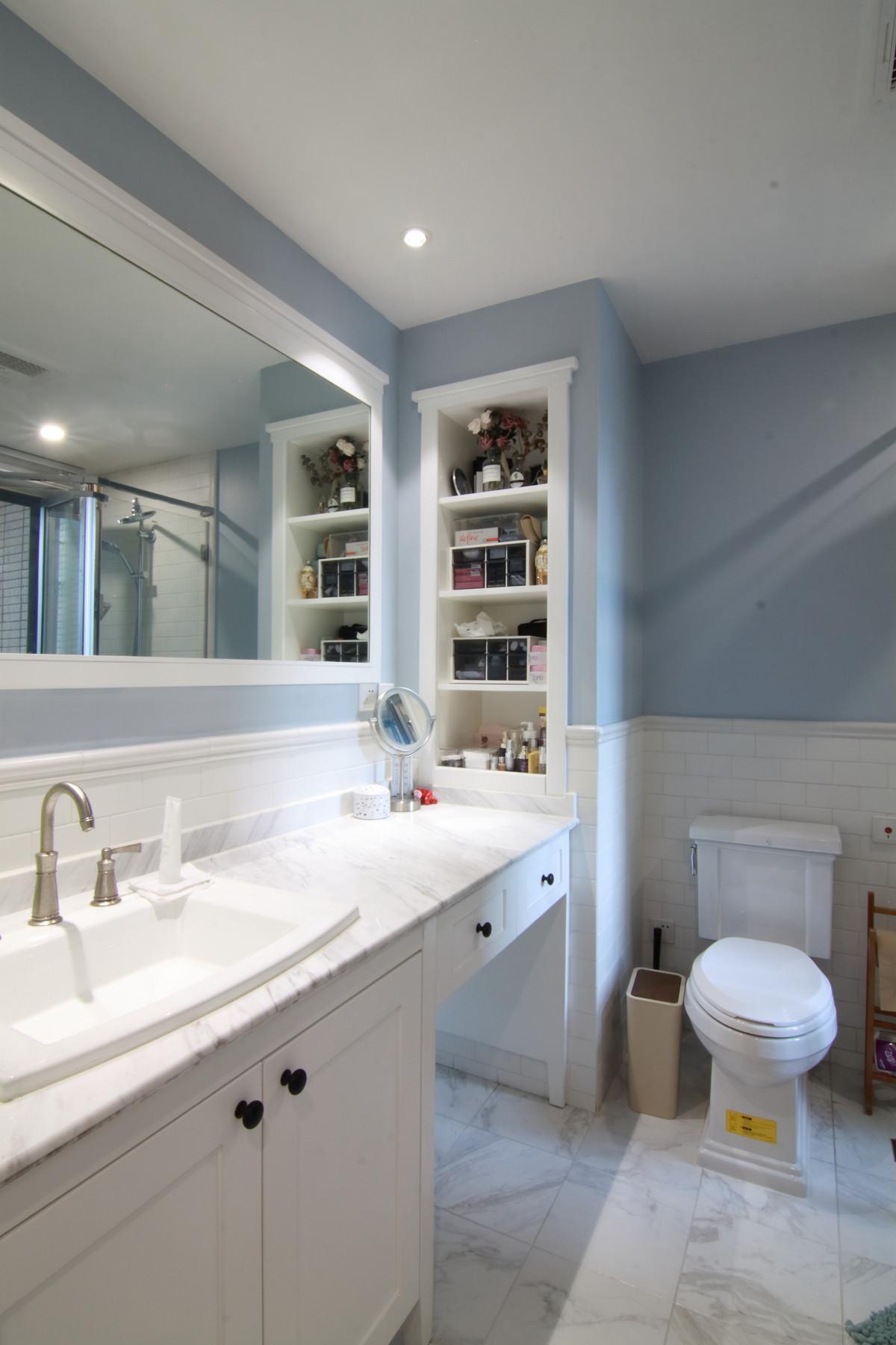 155平简美之家装修卫浴间装潢图