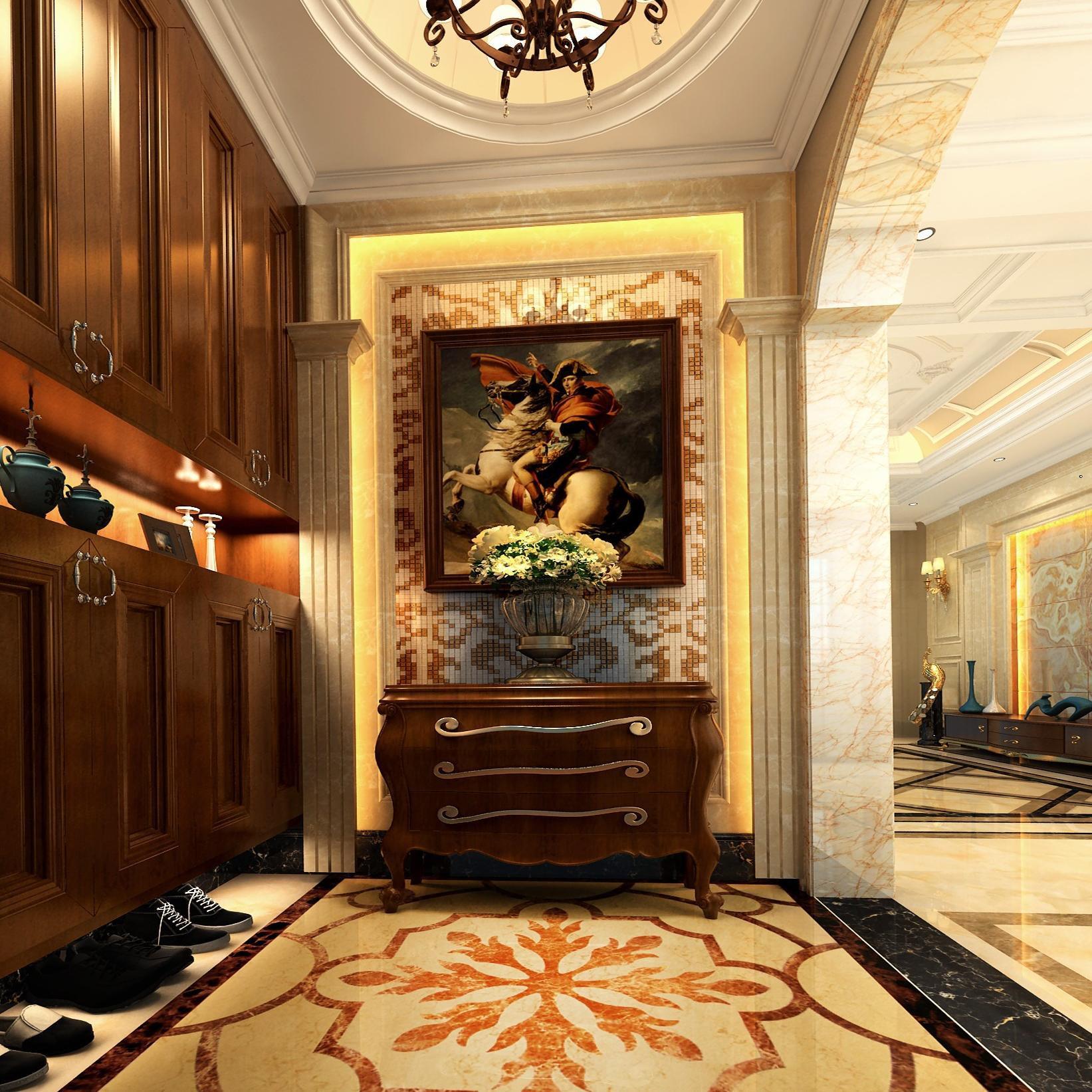 欧式豪华别墅修设计效果图