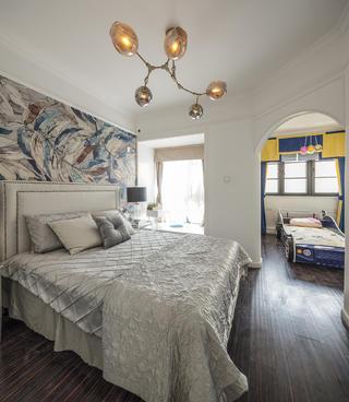 中式二居装修卧室设计图