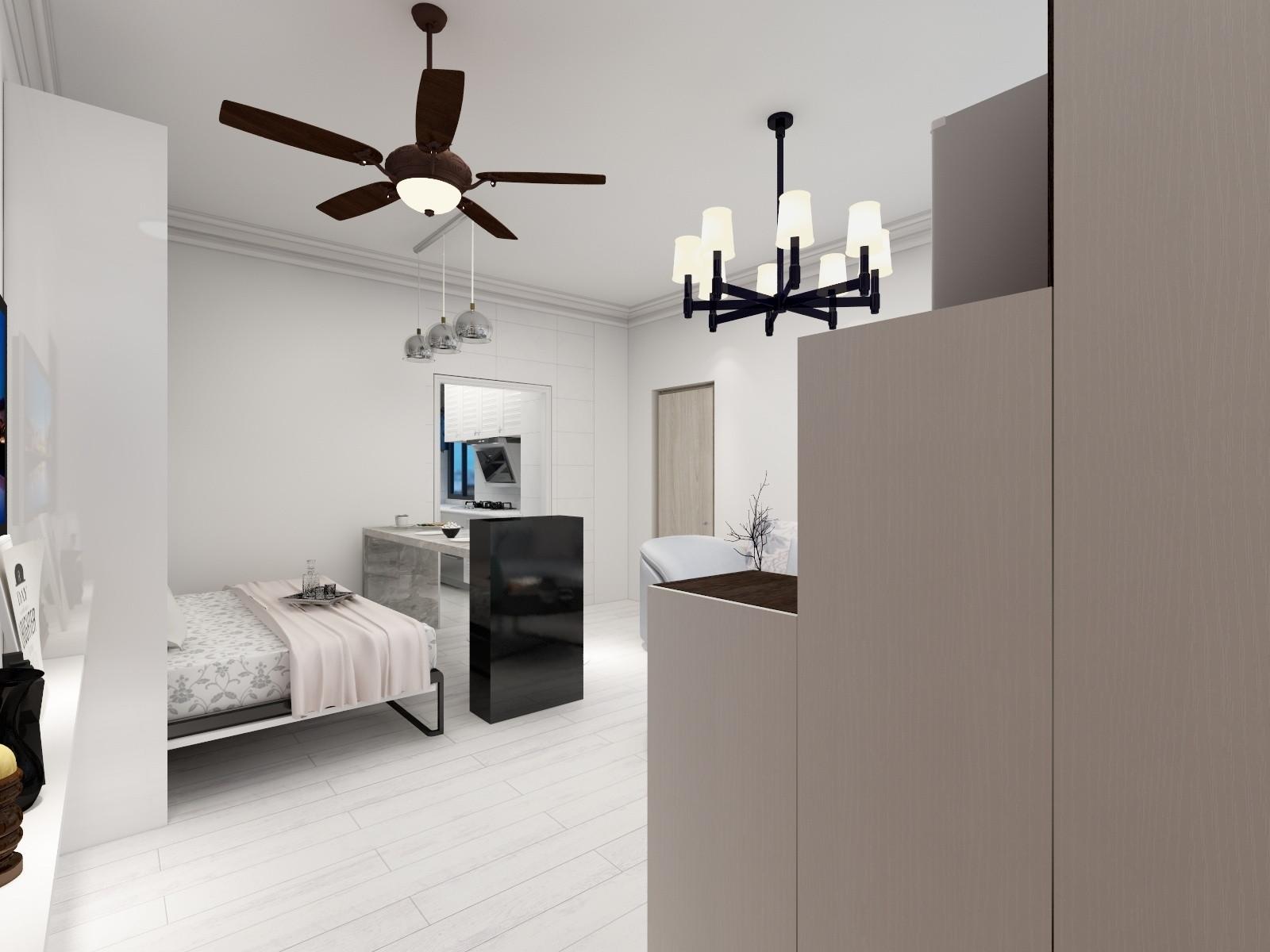 一居室小户型装修门厅效果图