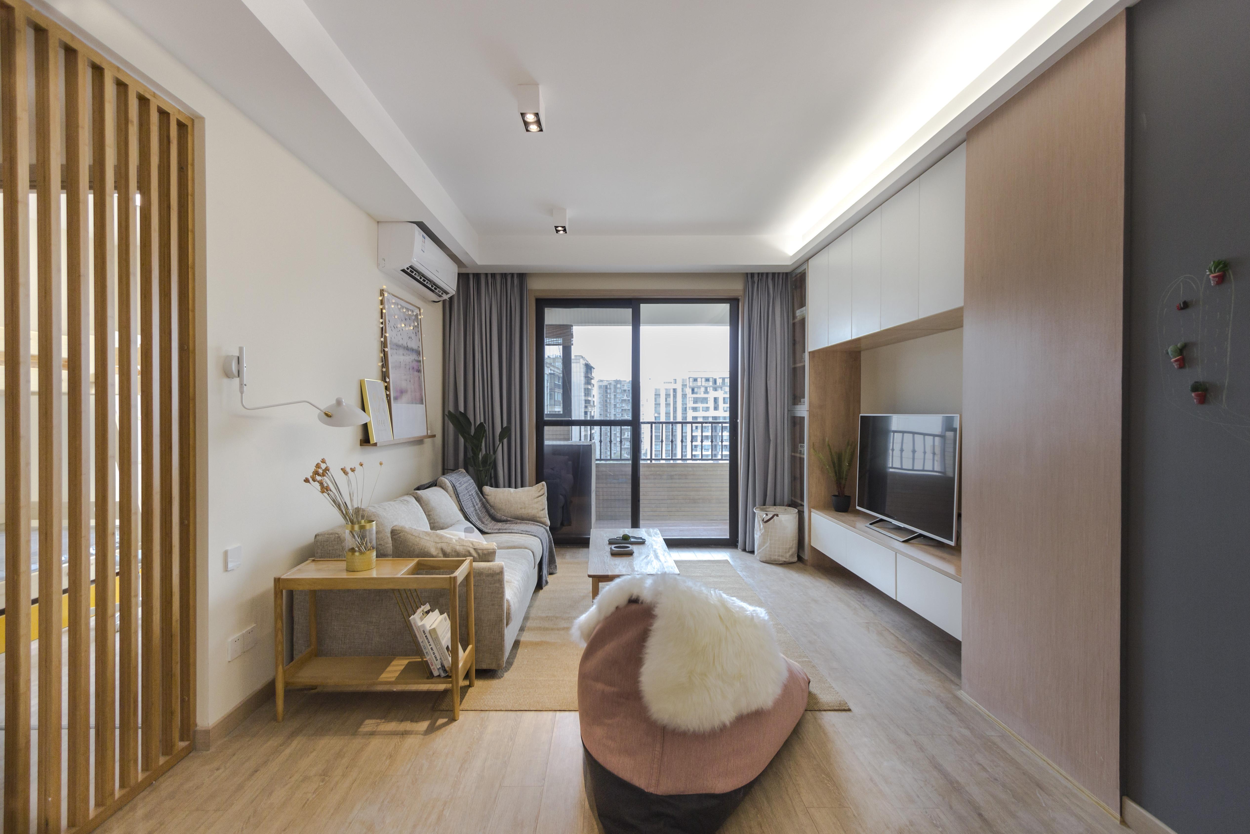142平北欧三居客厅效果图_齐家网装修效果图