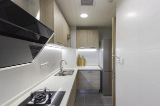 北欧三居室装修厨房效果图