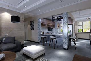 177平简约风格装修厨房设计图