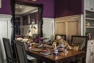 二居室美式装修餐厅设计图