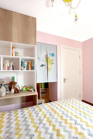 北欧二居室空间儿童房设计图
