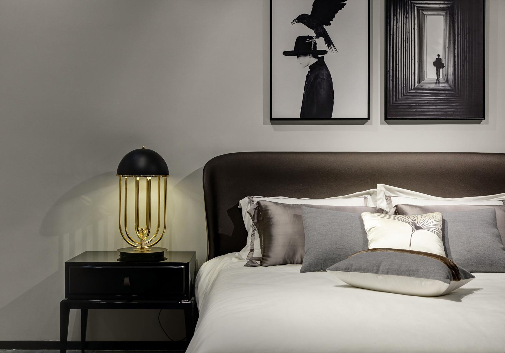 家装展厅装修床头灯图片