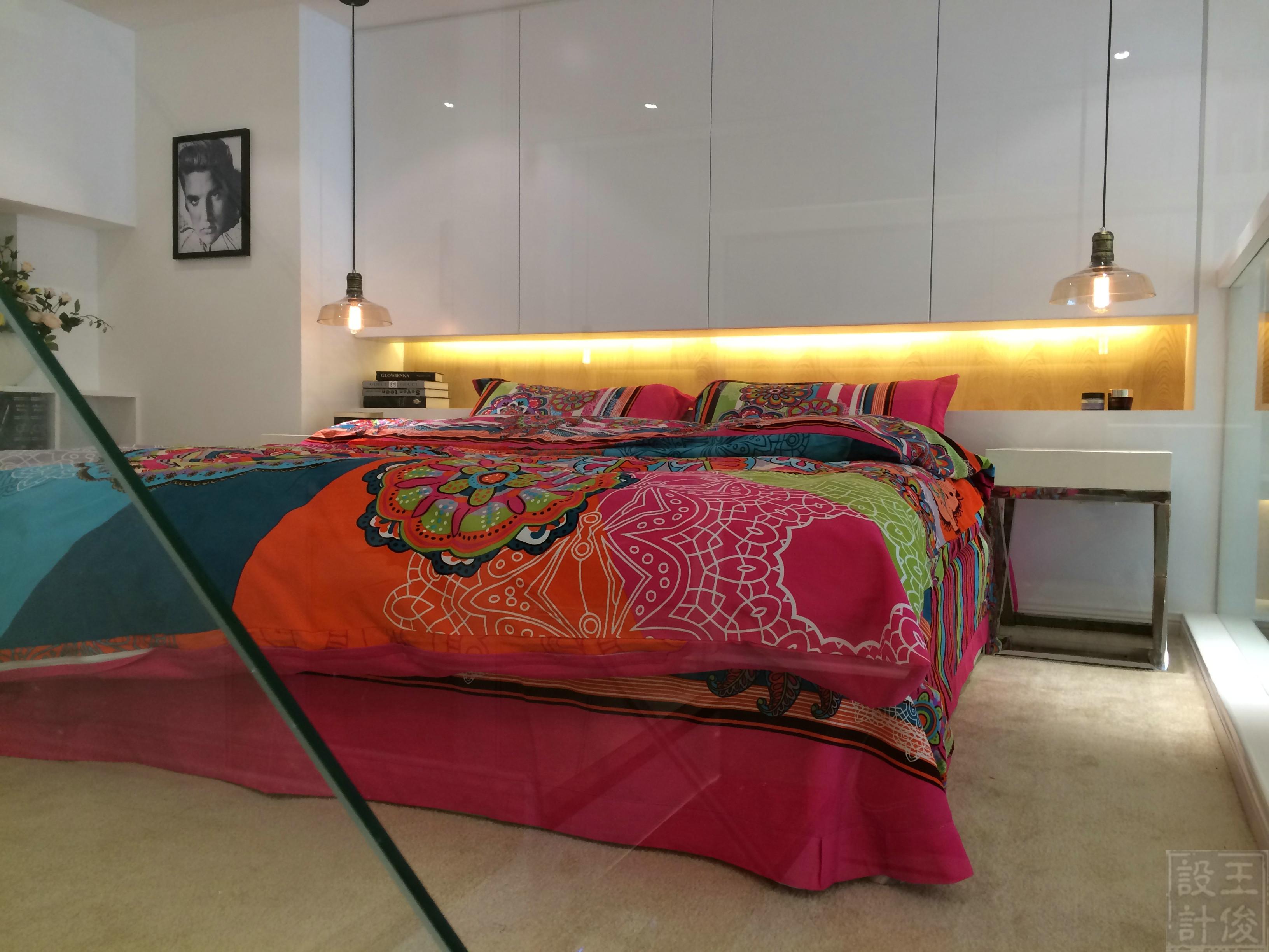 60平Loft风格设计卧室效果图